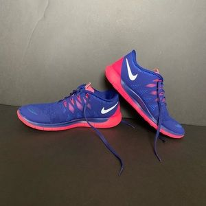 Nike Free 5 womens running shoes sz 10